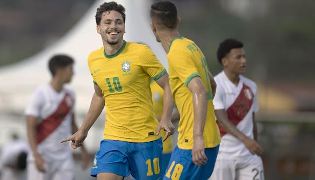Perú vs Brasil sub 20