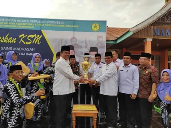 Kompetisi Sain Madrasah Tingkat Sumbar Berakhir, Peserta Terbaik Akan Wakili Sumbar ke Manado