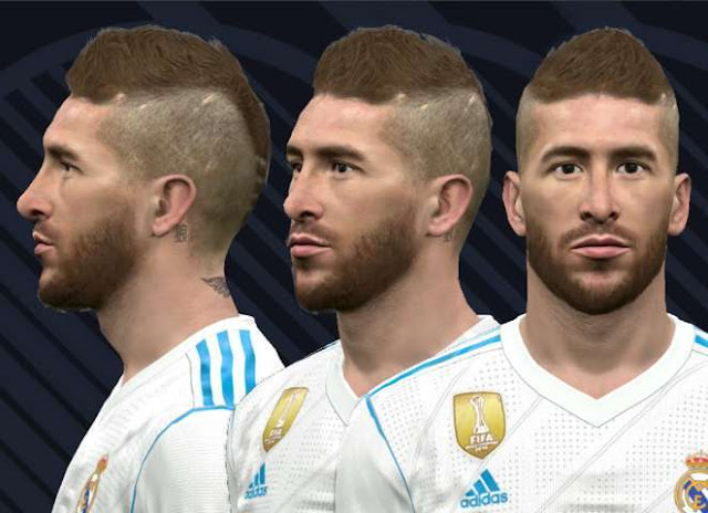 Sergio Ramos Final UCL Face PES 2017