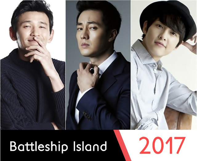 Battleship Island Movie 2017 featuring So ji Sub, Hwang Jung-Min and Song Joong-Ki