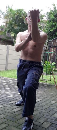 Wen Hsiu Quan: Defense Form- Movement 2: Ducking Phoenix Eye