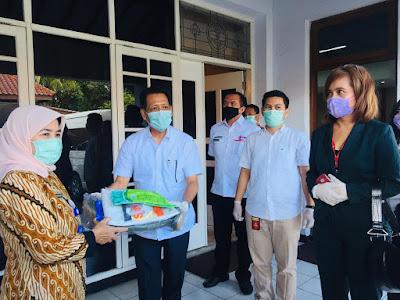 SInar Mas Land serahkan bantuan alat pelindung diri ke Pemkab Tangerang