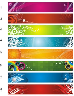 12 Template Banner Spanduk Format Cdr