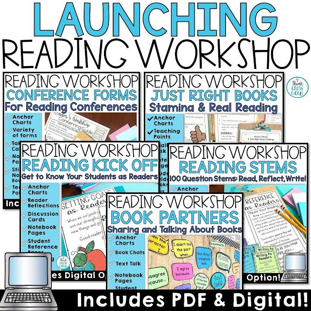 launching readers workshop upper elementary