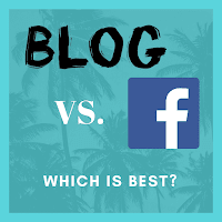 Blogging Beats Facebook for Content