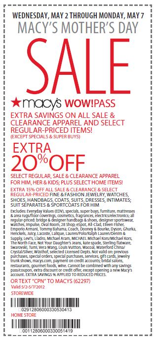 Mar 02,  · Macy's Wine Cellar is a subscription service that can be canceled at any time. Note that subsequent shipments will cost $ plus shipping. Select states are excluded. You may also like: Macys Printable Coupons - 20% OFF Wow Pass Orders! 3Nts at .