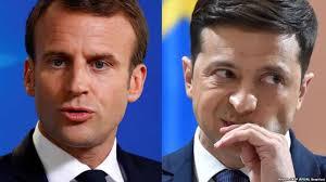 Зеленський у Парижі проводить переговори з Макроном