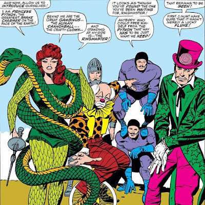 Circo del Crimine Marvel