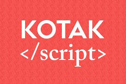 Tutorial Membuat Kotak Kode Script HTML atau CSS Dalam Postingan Blog