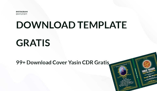 Download Cover Yasin CDR Gratis