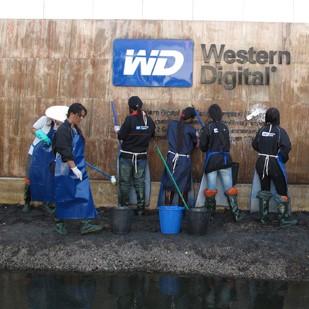 Inondation de l'usine western digital en thailande en 2011