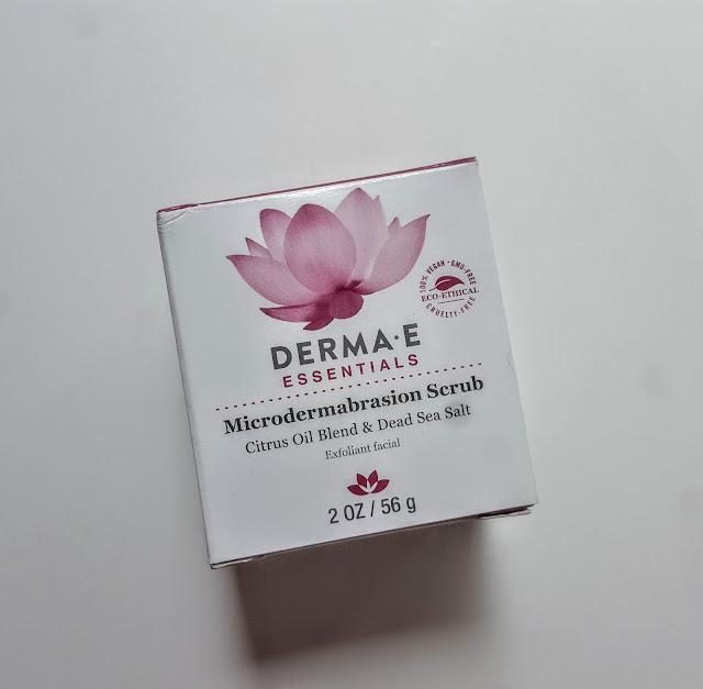 derma e essentials microdermabrasion scrub