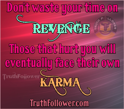 Don T Waste Your Time On Revenge Karma Quotes