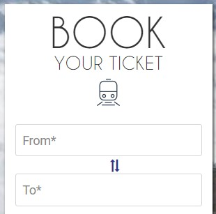Counter Ticket online Cancellation