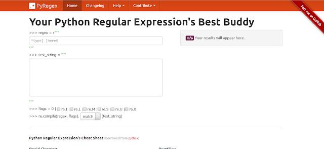 แนะนำเครื่องมือช่วยทำ Regular Expression กับภาษา Python