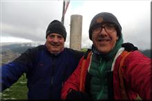 San Vitores mendiaren gailurra 895 m. -- 2017ko abenduaren 17an