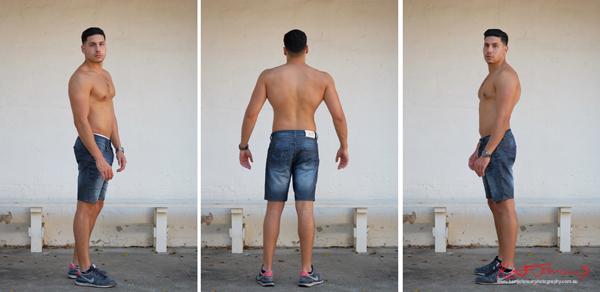 Bonus Digitals - Male modelling portfolio shot on Location in Sydney Australia by Kent Johnson.