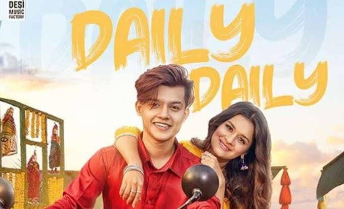 डेली डेली (daily daily) Lyrics by Neha Kakkar ft. riyaz