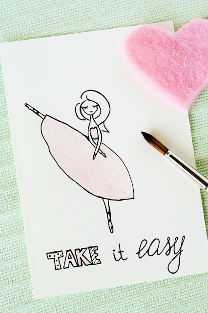Take It Easy - Some Joys Blog - Zeichnung