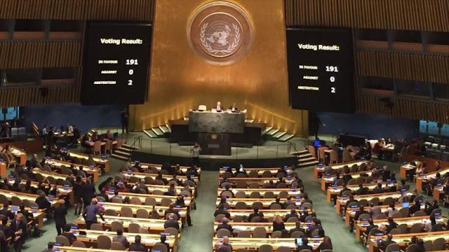 EEUU se abstiene en voto de la ONU contra el bloqueo a Cuba