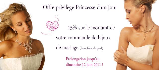 promo bijoux mariage