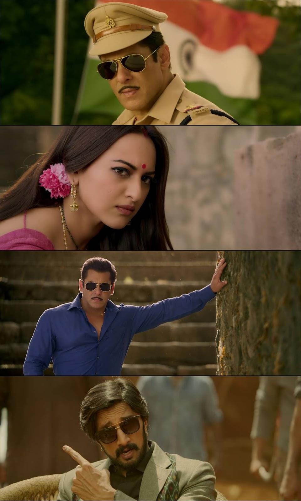 Dabangg 3 (2019) Hindi 480p WEB-DL 450MB Desirehub