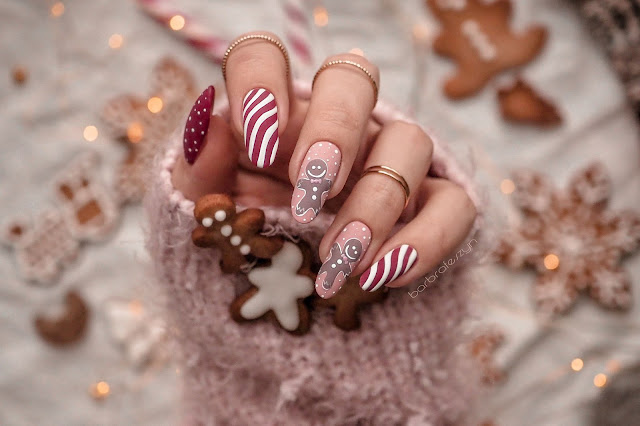 gingerbread nails