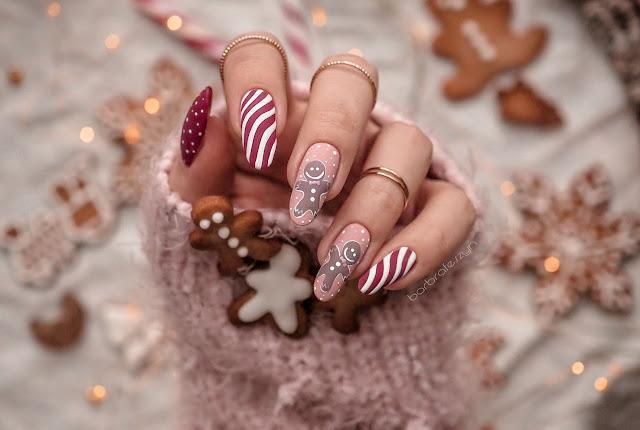 Paznokcie w pierniczki | Gingerbread nails