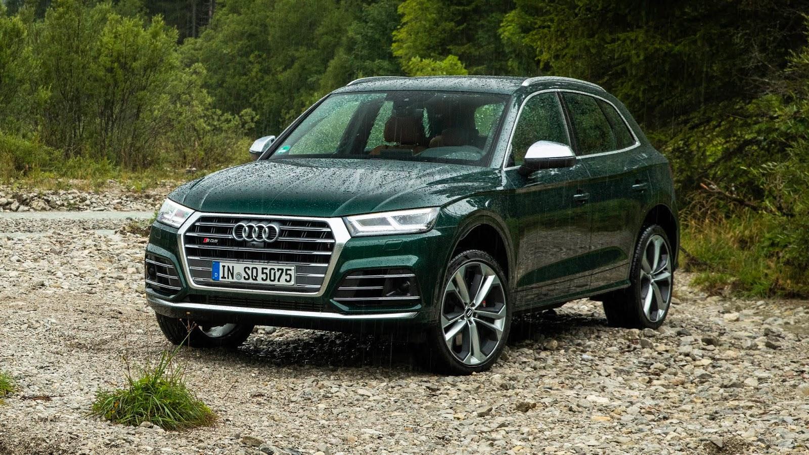 2020 Audi Sq5 First Drive