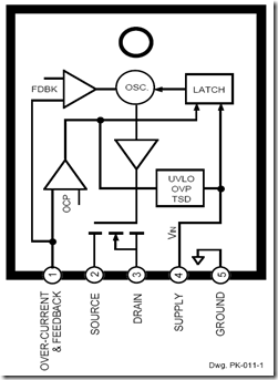 Workings of STR IC Regulator Power Supply - Electronic Circuit