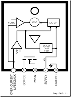 workings of str ic regulator power supply