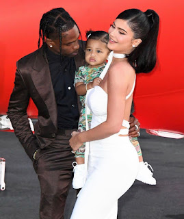 Travis Scott gives tribute to Kylie Jenner on her 23rd birthday