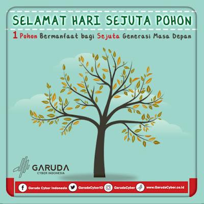 Download Free File PSD JPEG Desain Hari Sejuta Pohon
