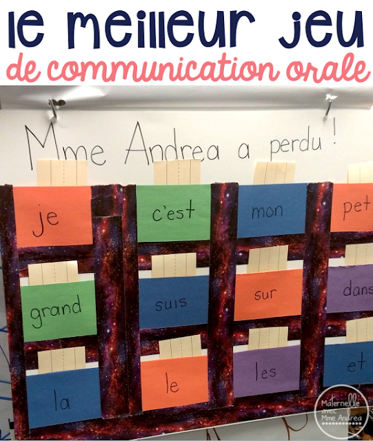 Do your French second language students need help learning to speak in French? Check out this fun teacher vs student game that gets EVERY student speaking! Le meilleur jeu de communication orale pour les élèves au primaire! Pour travailler la structure de phrase à l'orale.