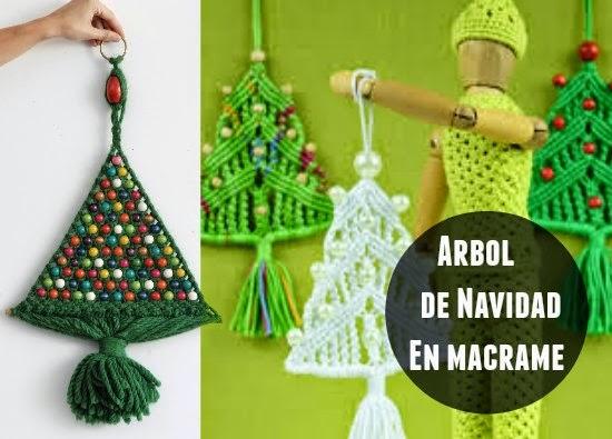 árbol, Navidad, macrame, nudos, manualidades, christmas tree knot,