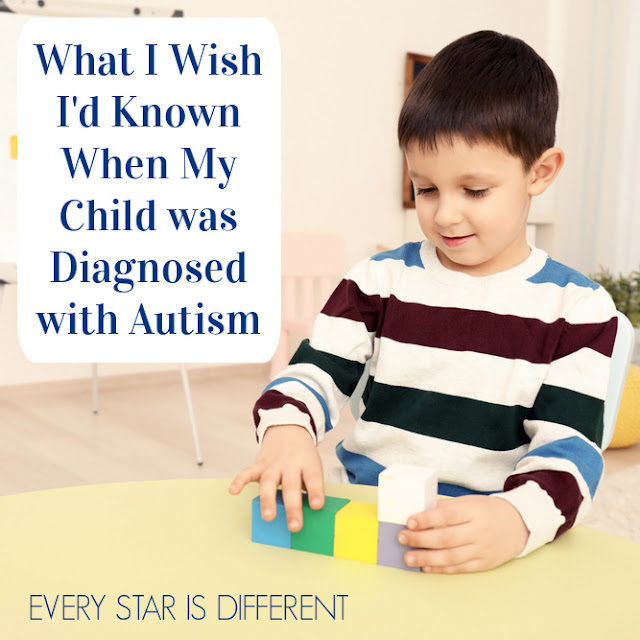 What I Wish I'd Known When My Child was Diagnosed with Autism