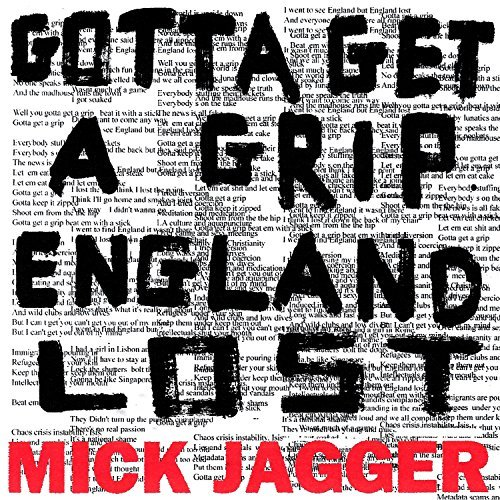 Music Television presents Mick Jagger and his music videos to his songs titled Gotta Get A Grip and England Lost
