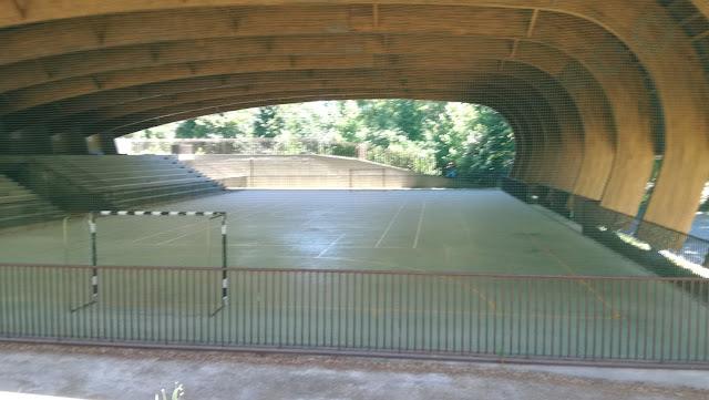 Polidesportivo Taipas Termal no Parque das caldas