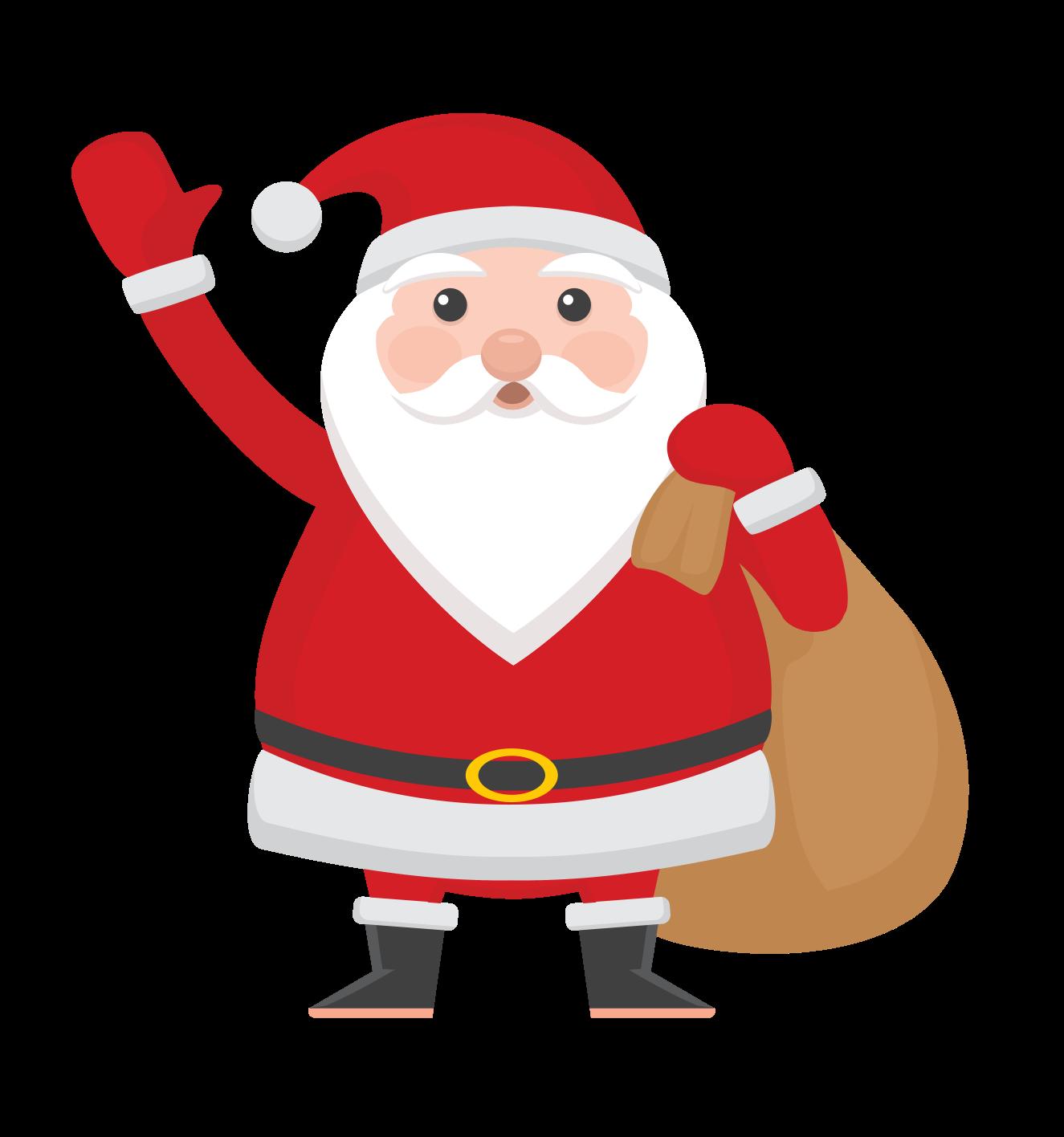 santa claus png clipart image - Free Santa Claus