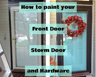 http://fixlovely.blogspot.ca/2013/11/how-to-paint-your-front-door-storm-door.html