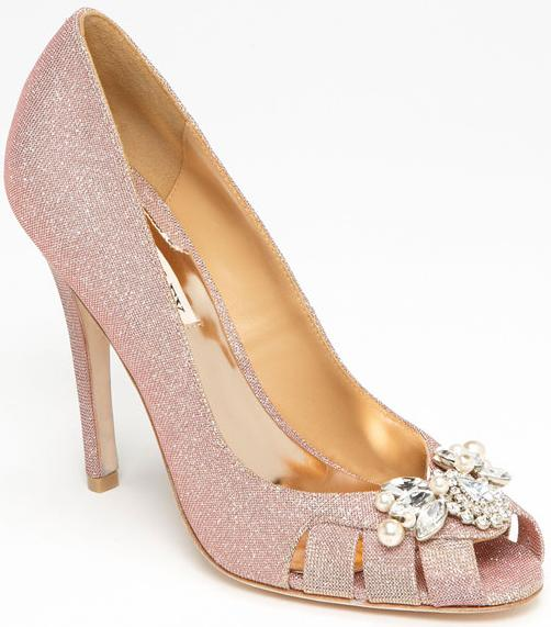 Badgley Mischka 'Monique' pump.