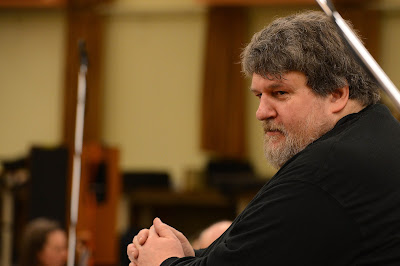 Oliver Knussen - photo Mark Allan BBC