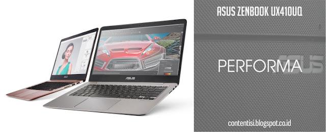 ASUS ZenBook UX410UQ - Performa
