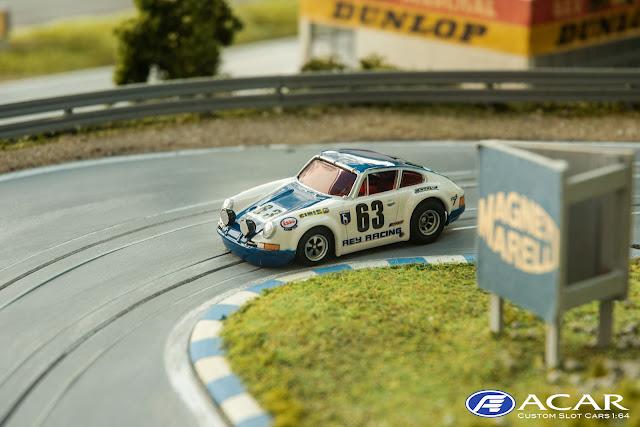 Porsche 911S 24h Le Mans 1970 Team Ray Racing #63