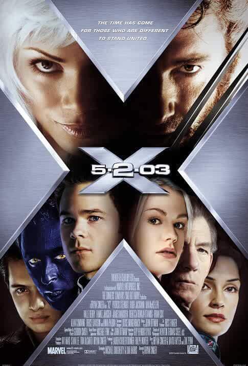 2 X2 - X-Men United 2003 x264 720p Esub BluRay Dual Audio English Hindi Sadeemrdp GOPI SAHI