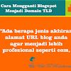 Panduan Blogspot Menjadi Custom Domain TLD