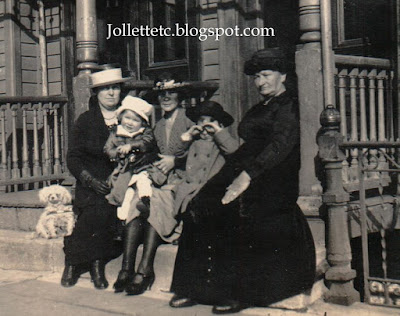 Sheehan aunts and cousins New York 1921 http://jollettetc.blogspot.com
