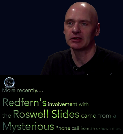 Nick Redfern on the Roswell Alien Slides