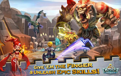Download Game Lords Mobile Apk v1.35 MOD (VIP Level) Update terbaru