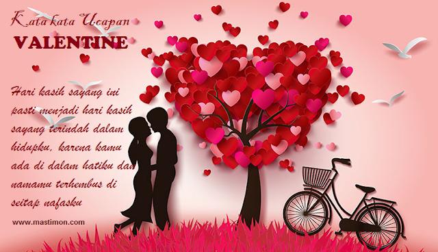 Kumpulan kata-kata ucapan Selamat Valentine untuk kekasih 2018